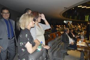 Dirigentes sindicais acompanharam a votação da PEc 241 no Plenário