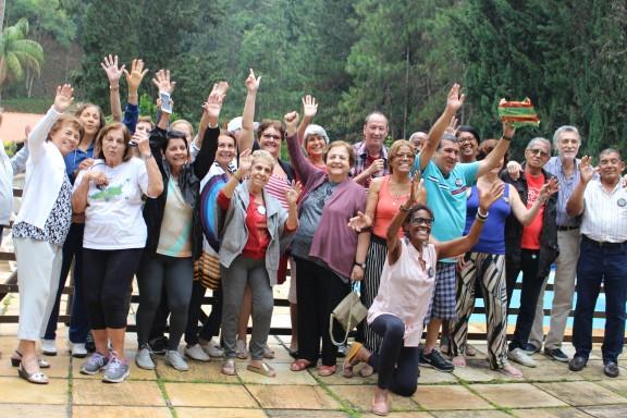 DAP encerra as atividades do ano com churrasco na sede campestre em Teresópolis