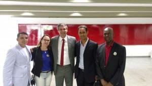 Diretores do Sisejufe se reuniram com o senador Lindbergh Farias nesta tarde