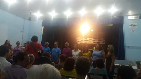 Sisejufe participa de Encontro de Corais da Congregação Espírita Francisco de Paula