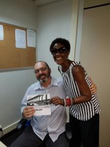 Servidor sindicalizado da Justiça Federal de Barra do Piraí recebe seu calendário