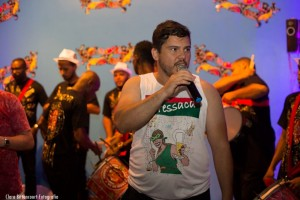 Coordenador do Departamento de Cultura do Sisejufe, Adriano Nunes, pede mobilização contra a retirada de direitos