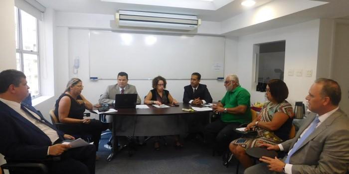 Diretoria do Sisejufe se reúne com entidades para debater formas de mobilização contra a Reforma da Previdência