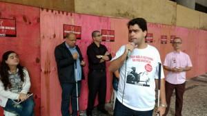 Diretor Ricardo Azevedo ressaltou a importância da participação dos trabalhadores na Greve