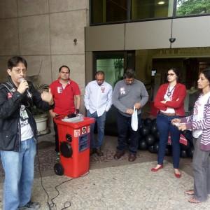 O diretor do Sisejufe Ricardo Quiroga ressaltou os danos que as reformas vão provocar aos trabalhadores