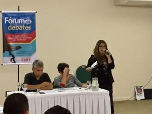 Servidora Mônica Santana fala sobre o assédio no Poder Judiciário