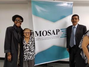 Neli Rosa, Maria Mercês Oliveira e José Fonseca representaram o Judiciário Federal