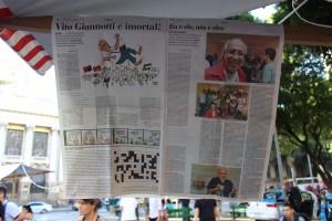 Homenagem do Jornal Brasil de Fato