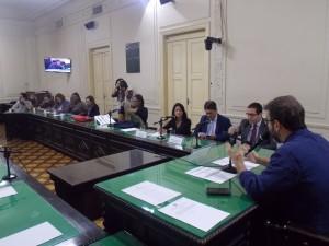 Deputado Marcelo Freixo conduz os trabalhos na Alerj