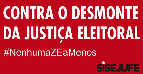 Sisejufe denuncia no TCU a terceirização do cadastro eleitoral