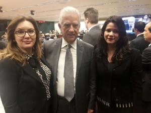 Sueli e Fernanda também são recebidas pelo deputado federal Rubens Bueno, do PPS-PR