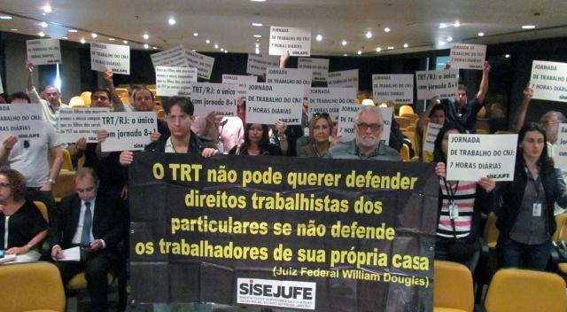 Relator da jornada de trabalho no TRT deve apresentar voto sobre recurso do Sisejufe semana que vem