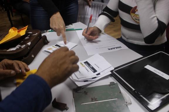 Chapa 1 é reeleita com mais de 60% dos votos da categoria