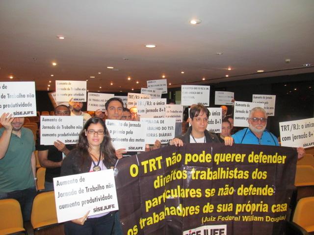Sisejufe mantém trabalho de convencimento de desembargadores para revogar Ato 55 no TRT