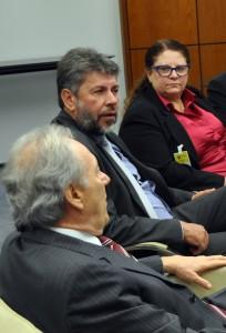 Lucena Pacheco participou da reunião com o ministro do STF