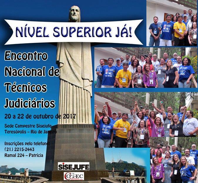 Encontro Nacional de Técnicos Judiciários