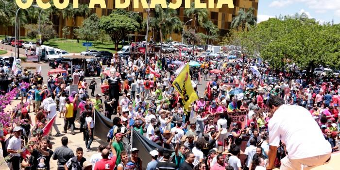 """OCUPA BRASÍLIA"" – Luta e resistência contra a anti reforma da Previdência"