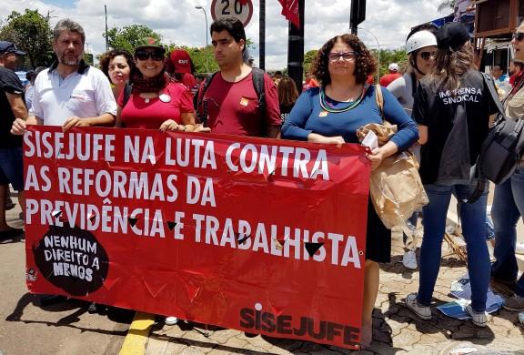 SISEJUFE ESTÁ MOBILIZADO para o dia 5 de dezembro contra anti-reforma da Previdência