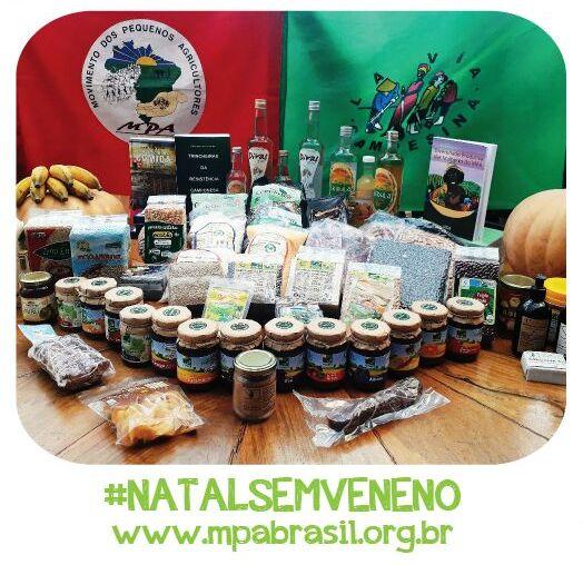 CAMPANHA NATAL SEM VENENO – Participe da campanha e ajude o MPA a melhor se organizar