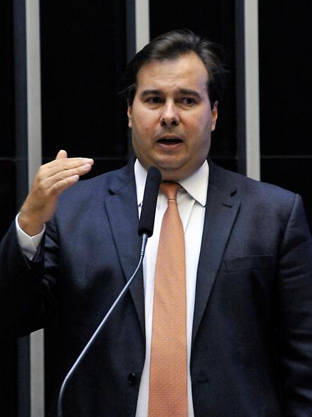 RODRIGO MAIA DEFENDE prioridade para reforma da Previdência durante abertura do ano legislativo