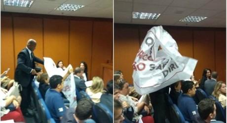 DEU NA IMPRENSA – Movimento Down protesta no TJ contra desembargadora que acusou Marielle