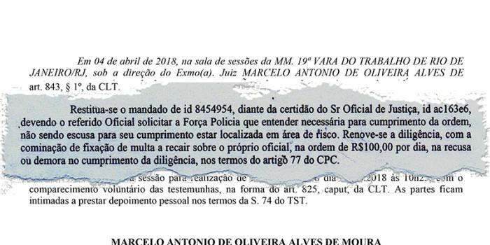 ENTIDADES CONTINUAM DEMONSTRANDO apoio à luta do Sisejufe e repudiam abuso de poder de juiz do TRT1 contra oficial de justiça