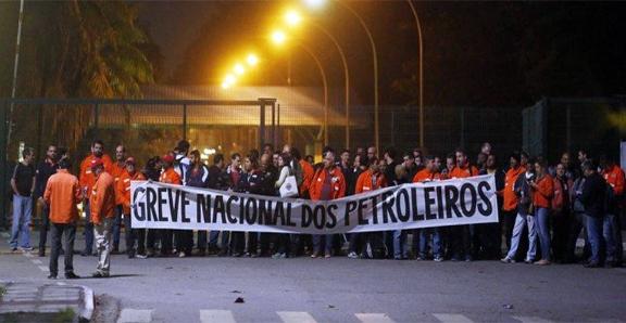TODO APOIO AOS petroleiros e sua greve