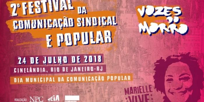 FESTIVAL DA COMUNICAÇÃO Sindicale Popular vai levar para a Cinelândia debate sobre 1968, ditadura no Brasil e resistência ontem e hoje