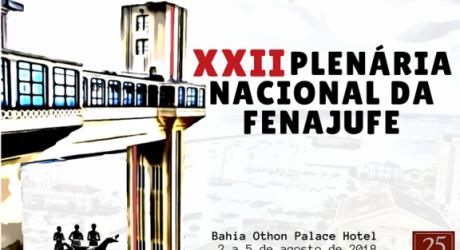 PLENÁRIA DA FENAJUFE: Assembleia dia 20 de junho elegerá delegados que representarão categoria do Rio