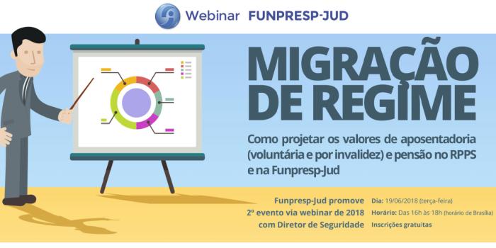 NOVO WEBINAR da Funpresp-Jud simula valores de aposentadoria e pensão