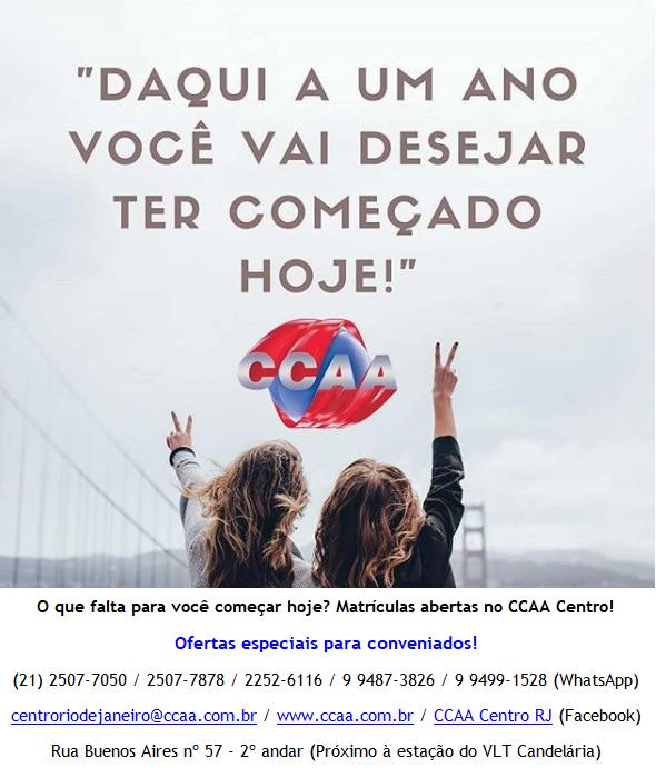 PROMOÇÃO CCAA
