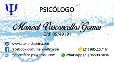 PSICOLOGO – MANOEL VESCONCELLOS GOMES