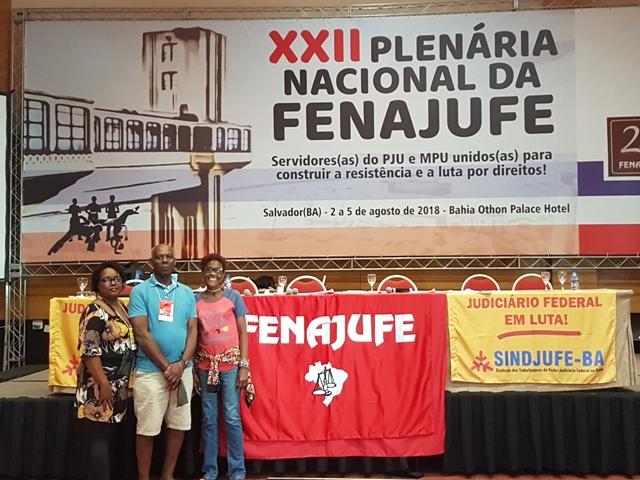 PLENÁRIA NACIONAL DA FENAJUFE – Sisejufe apresentou resoluções em defesa dos aposentados