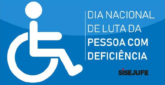 DIA 21 SETEMBRO é o Dia Nacional de Luta da Pessoa com Deficiência
