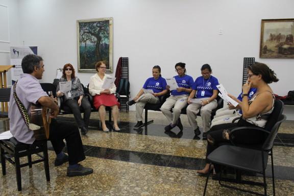 OFICINA DE CANTO é destaque na programação do Mês do Servidor