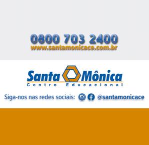 INFORMAÇÕES IMPORTANTES DO CONVÊNIO DE PARCERIA SANTA MÔNICA CENTRO EDUCACIONAL