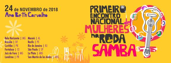 EVENTO reúne grandes mulheres do samba