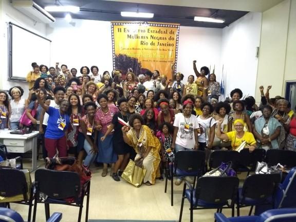 SISEJUFE PARTICIPA do II Encontro Estadual de Mulheres Negras do Rio de Janeiro