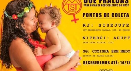 Sisejufe recebe doações para Chá de Bebê Coletivo