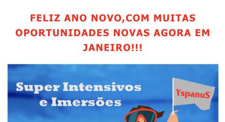 OPORTUNIDADES EM JANEIRO