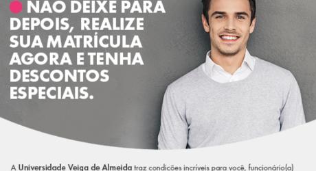 Descontos 2019.01 da Universidade Veiga de Almeida