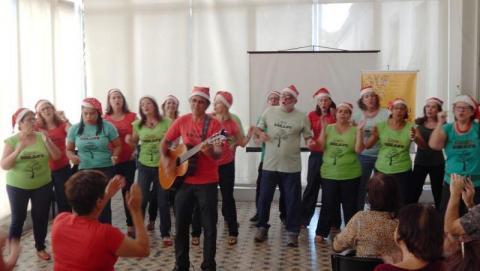 Coral do Sisejufe canta nesta sexta-feira no CCJF