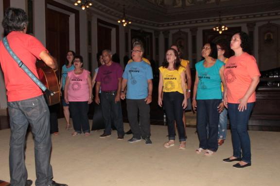 Coral é destaque do projeto Música no Museu