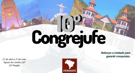 Assembleia dia 20 de março elegerá delegados para 10º Congrejufe