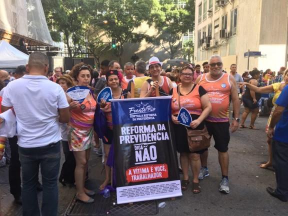 Sisejufe confirma participação no dia de mobilização e de luta contra a Reforma da Previdência, em 22 de março