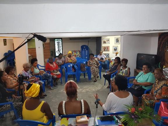 Rede de Mulheres negras se reúne em espaço de resistência