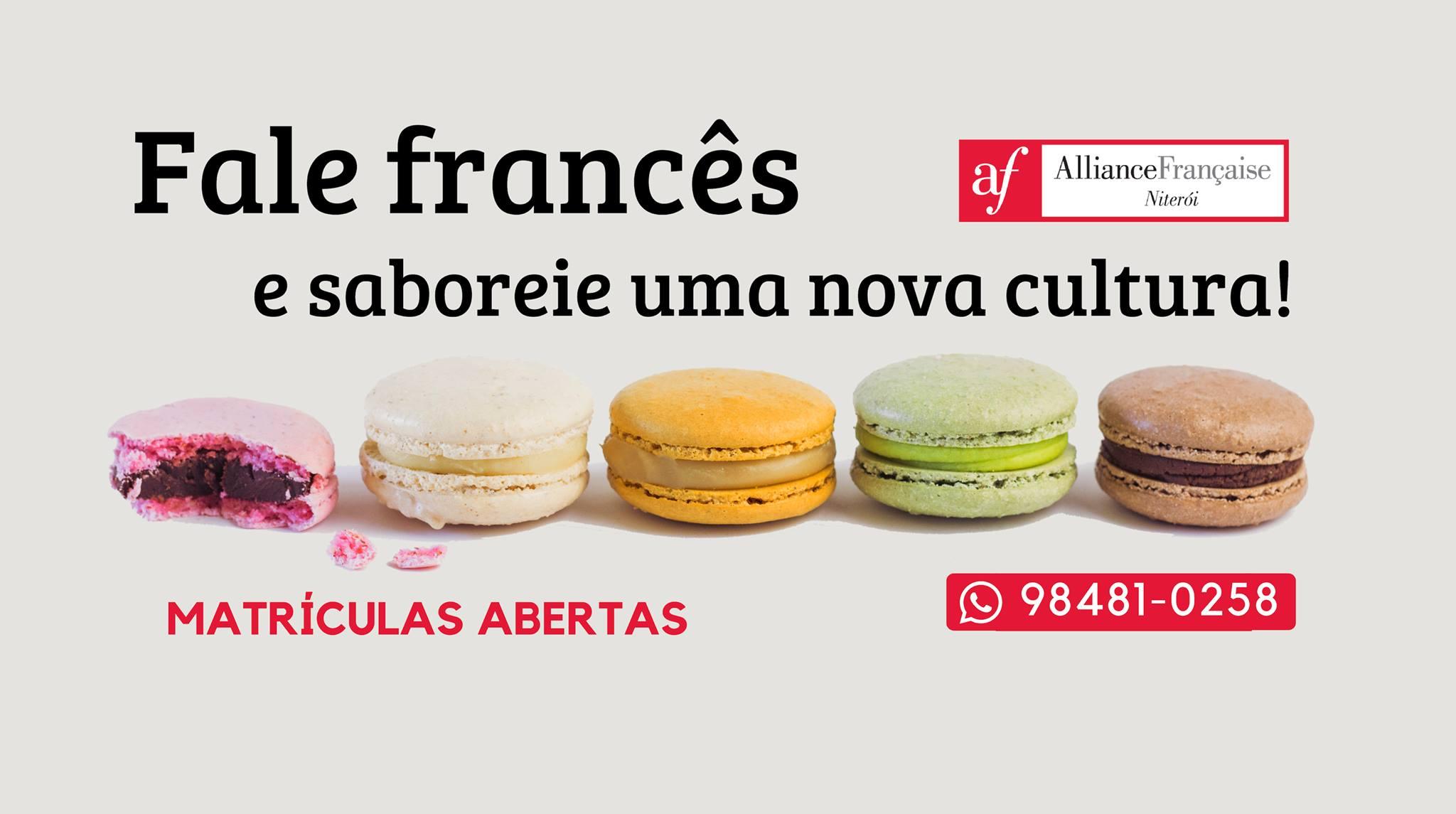 Aliança_Francesa Niteroi_Matriculas 2019