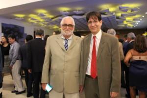 Diretores Amauri Pinheiro e Ricardo Quiroga estiveram presentes na solenidade de posse do novo presidente do TRT-RJ