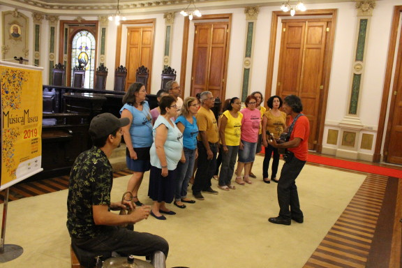 Coral do Sisejufe canta diferentes ritmos no CCJF
