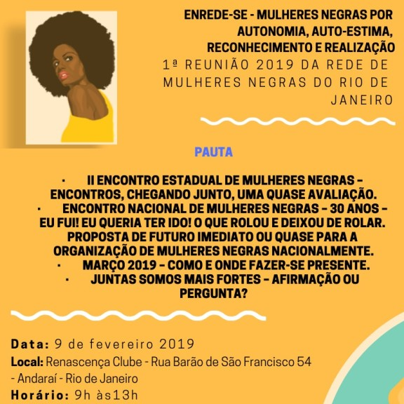 Sisejufe participa da Rede de Mulheres Negras